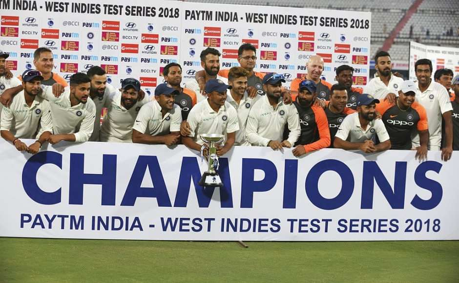 Umesh Yadav's ten-wicket haul overshadows Jason Holder's fifer as India clinch series 2-0