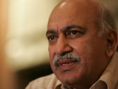 File image of MJ Akbar. Getty images