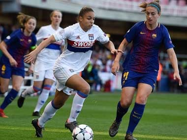 File image of Barcelona player Alexia Putellas. AFP