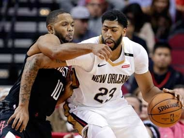 NBA: Anthony Davis scores 32 points as New Orleans Pelicans get off to roaring start by beating Houston Rockets