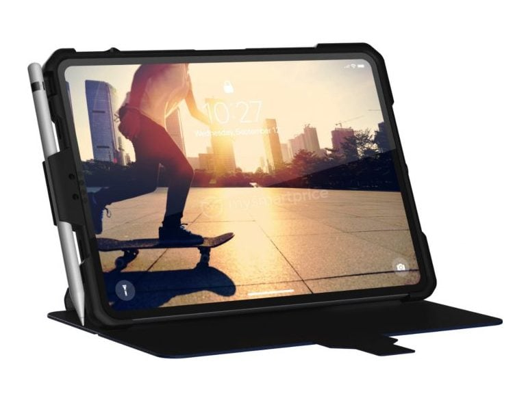 New case renders of the iPad Pro reveal bezel-less design, new sensors