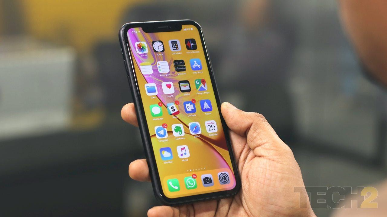 Apple iPhone XR. Image: tech2 / Omkar Patne