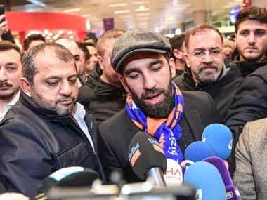 File image of Arda Turan. AFP
