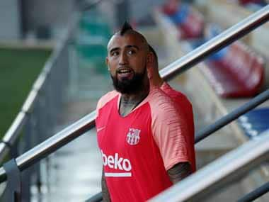 Arturo Vidal joined Barcelona in the summer from German giants Bayern Munich, but has struggled for minutes in his new team. Reuters
