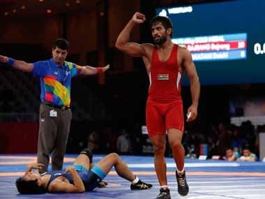 File image of Bajrang Punia. Reuters