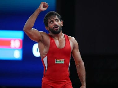 Asian Wrestling Championships 2019: Bajrang Punia secures 65kg gold medal in hardfought victory; Praveen Rana bags silver