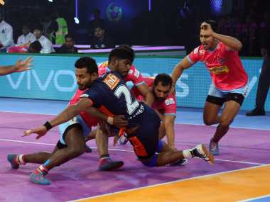 Bengal Warriors returned to winning ways with a win over Jaipur Pink Panthers in PKL. Image Courtesy: PKL