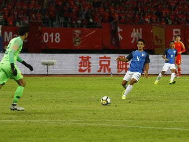 Indian football team deserves praise for fighting draw against China despite riding on sheer luck at times