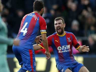 Premier League: Luka Milivojevics late penalty rescues Crystal Palace, ends Arsenals 11-game winning streak