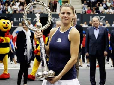 Camila giorgi finished in second place in the last Linz WTA event a year ago. Twitter@WTALinz