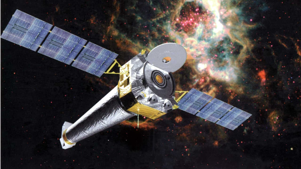 The Chandra X-Ray Observatory is shown in an artist's rendering. Image: Reuters