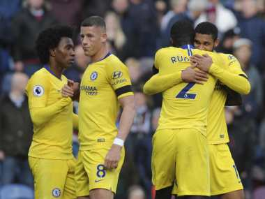 Chelsea returned to winning ways in the Premier League after a draw with Manchester United last week. AP