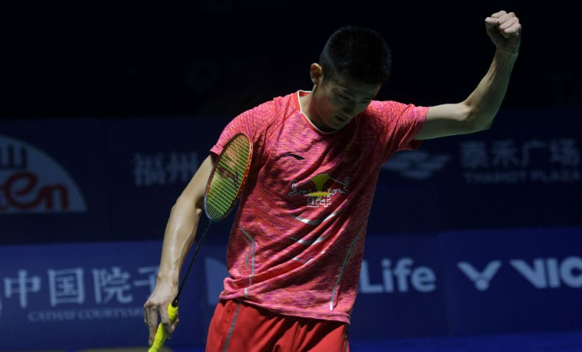 File image of Chen Long. AFP