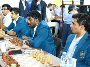 Batumi Chess Olympiad 2018: Sasikaran guides India to narrow win over Czech Republic in Round 8; women lose to Hungary