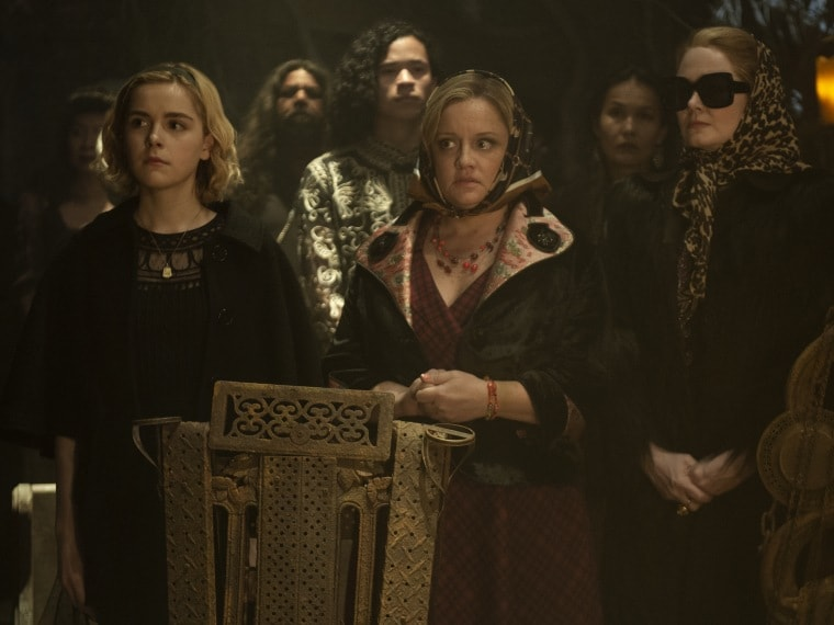 Chilling Adventures of Sabrina trailer: Witch or human? Kiernan Shipka is forced to choose