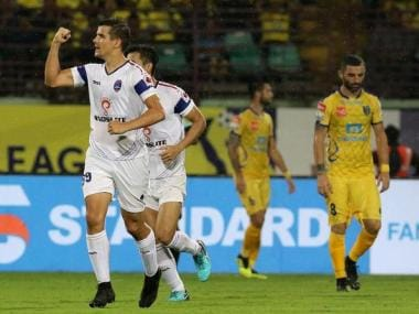 ISL 2018-19: Andrija Kaluderovic's late goal helps Delhi Dynamos hold Kerala Blasters to draw