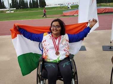 Asian Para Games 2018: Ekta Bhyan, Narayan Thakur clinch golds; India earn 11 medals on Day 3