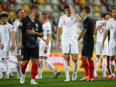 UEFA Nations League: England draw with Croatia behind closed doors in Rijeka to earn first point of tournament