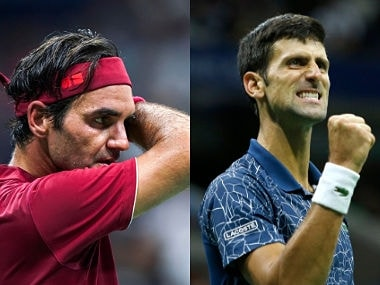 Defending champion Roger Federer will be looking to defend his title against the in-form Novak Djokovic. AFP