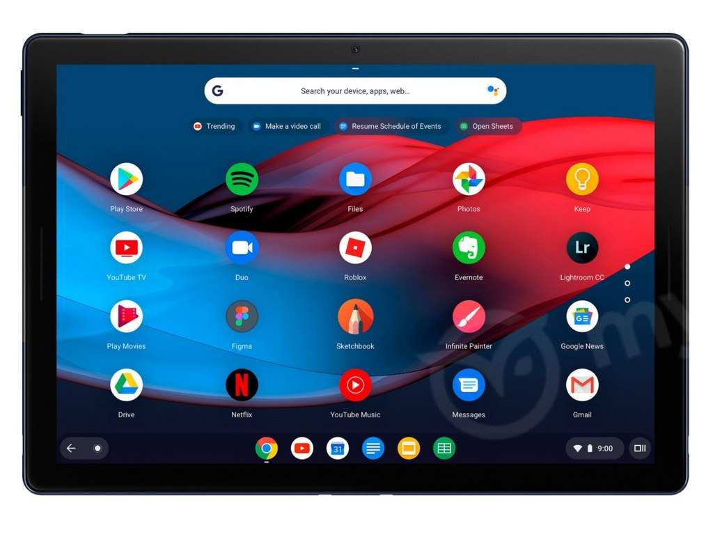Googles first Chrome OS-running Pixel Slate tablet leaked ahead of launch