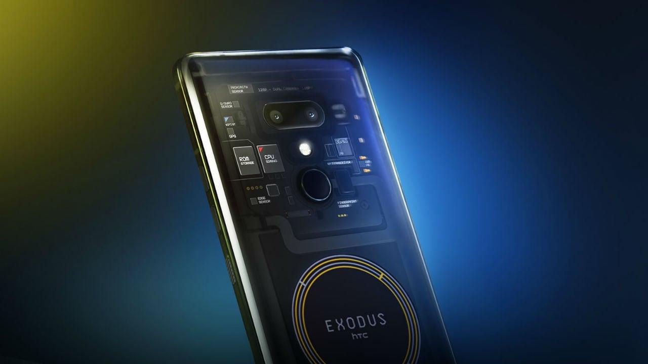 HTC Exodus. Image: HTC