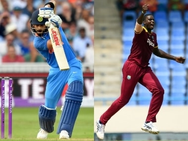 India vs West Indies, LIVE cricket score, 1st ODI at Guwahati: Rohit, Kohli steady hosts after early blow