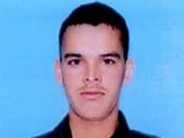 Sepoy Rajendra Singh who died due to stone pelting. ANI