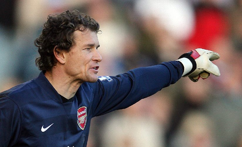 Jens Lehmann was part of the Invincibles team at Arsenal. He then came out of retirement to play for the club in 2011. He was also the goalkeeping coach for a season. AFP
