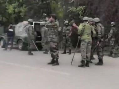 Two terrorists killed in retaliatory fire by cops in Jammu and Kashmir's Baramulla; assault rifle, pistols among weapons recovered