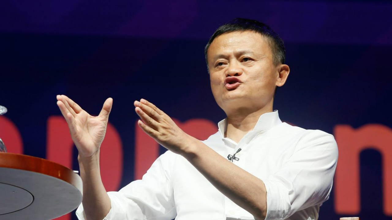 Alibaba Group co-founder and Executive Chairman Jack Ma. Image: Reuters