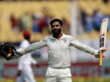 India vs West Indies: Ravindra Jadeja says being calm in the nervous 90s helped him reach maiden ton