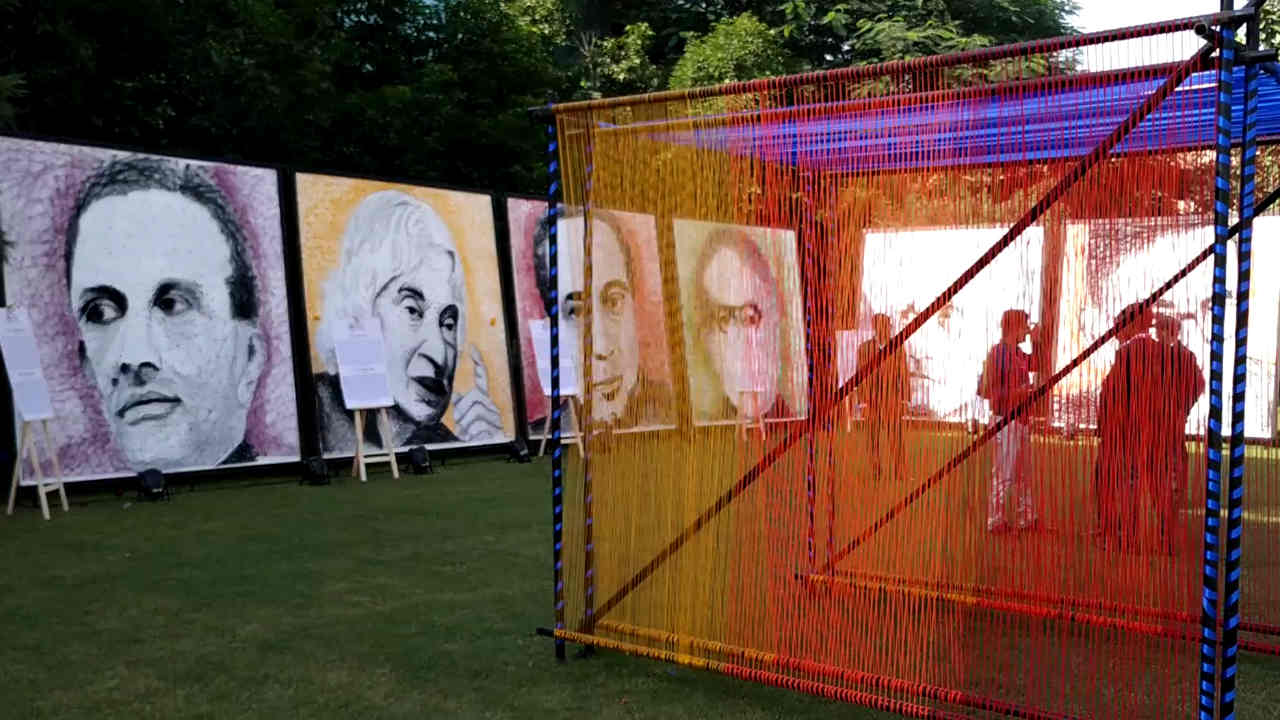 An artistic tribite to some of India's greatest scientists. Image: tech2
