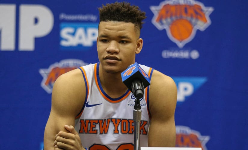 The acquisition of Kevin Knox has been a plus point for the New York Knicks, and the youngster looks capable of being one of the league's top first-year players. Reuters