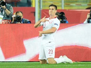 File image of Krzysztof Piatek. Reuters