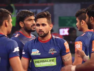 Pro Kabaddi League 2018: Haryana Steelers make strong start to home leg with victory over Gujarat Fortunegiants