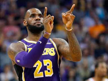 NBA: LeBron James says he is in no hurry to assemble a Lakers side capable of challenging for championships