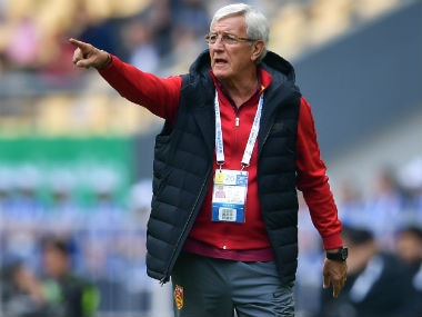 File image of Marcelo Lippi. AFP