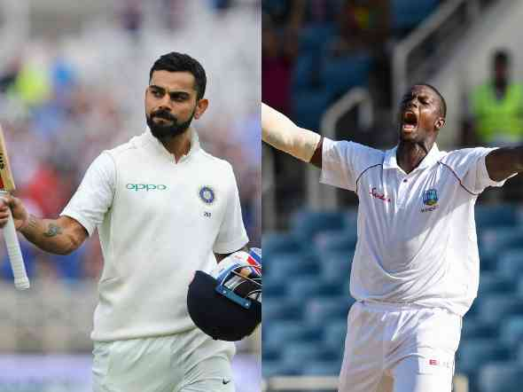 Live scoreboard India vs West Indies second test scoreboard day 2