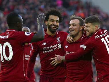 Liverpool moved three points clear at the top of the Premier League table with a win over Cardiff. AP