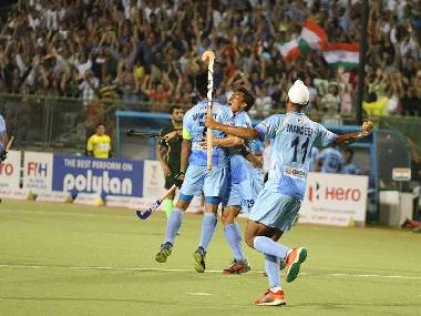 India will back their attacking game in the quarter-final on Thursday. Image courtesy: Twitter @TheHockeyIndia