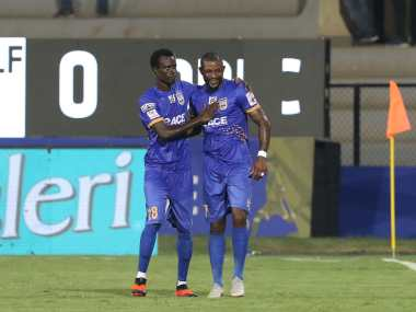 Mumbai City FC recorded their second win of the season with a 2-0 success over Delhi Dynamos. Image Courtesy: ISL