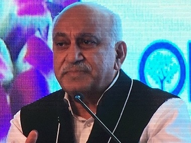 File photo of MJ Akbar. Image Courtesy: Twitter/@mjakbar