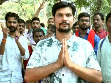 Sudeep Shukla, speech and hearing impaired engineer is likely to contest in Madhya Pradesh Assembly elections. ANI