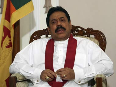 File image of Mahinda Rajapaksa. Reuters