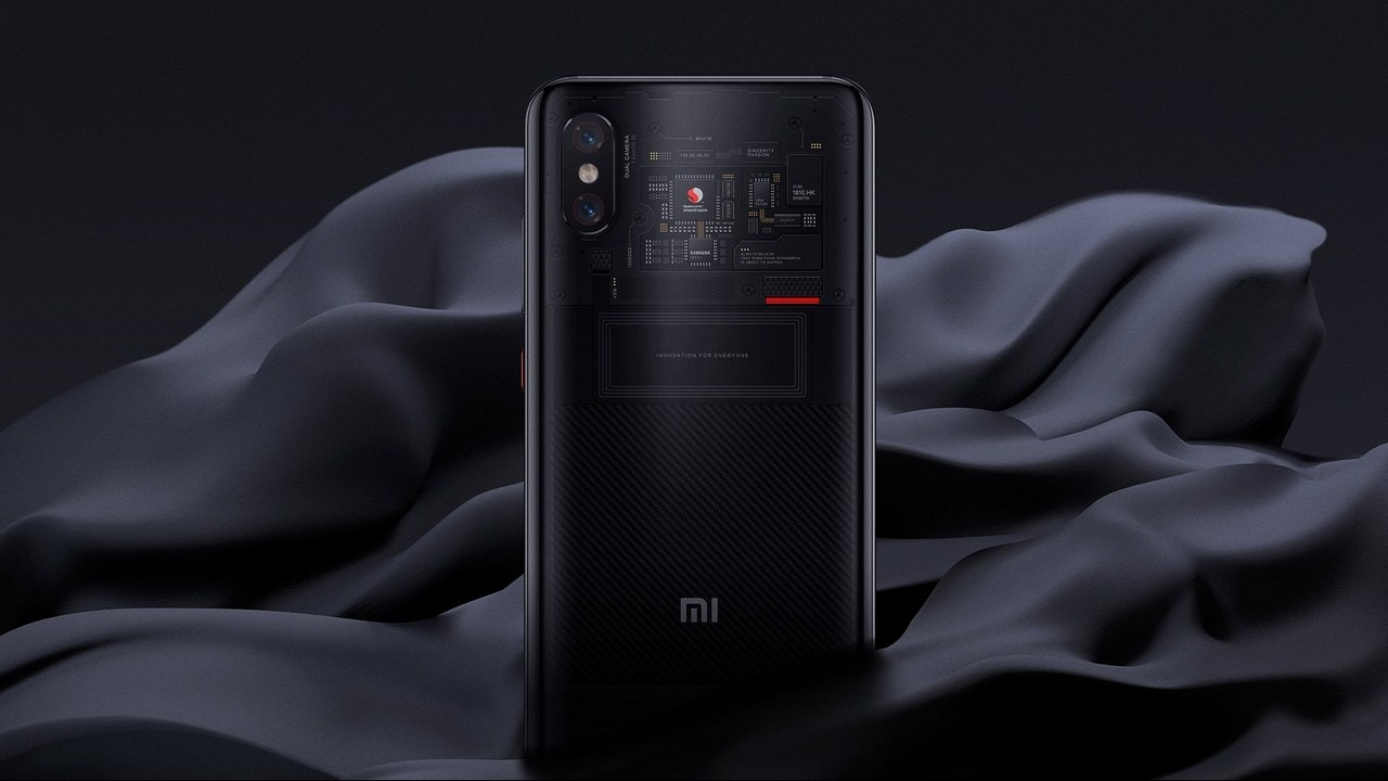 Xiaomi Mi 8 Pro rolls out in Taiwan with Snapdragon 845 SoC, transparent back