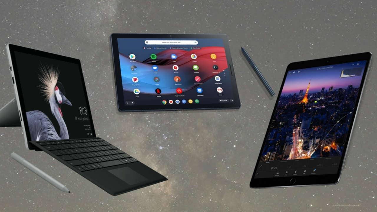 Google Pixel Slate Vs Ipad Pro 2017 Vs Surface Pro 6