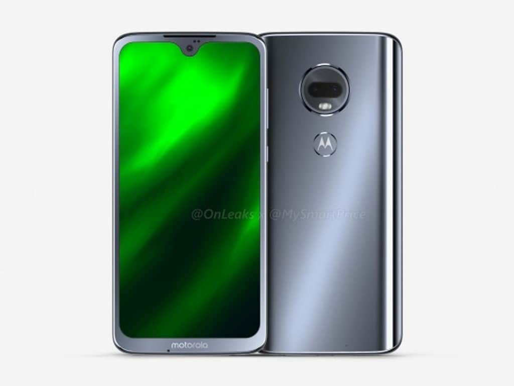 Early renders of the Moto G7 reveal the inclusion of a waterdrop-style notch