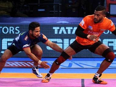 Pro Kabaddi 2018, U Mumba vs Gujarat Fortunegiants, Highlights: Mahendra Rajput's seven-point raid stuns hosts