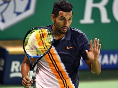File image of Nick Kyrgios. AFP