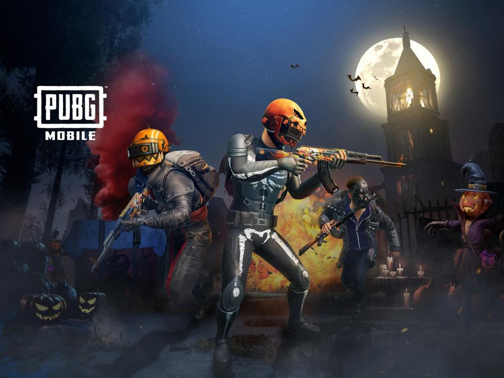 PUBG Mobile Halloween update poster. Image: PUBG Mobile